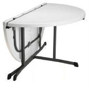 60 Inch Round Fold In Half Tables