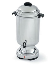 Coffee Maker For Large Party : Large Chrome Coffee Maker